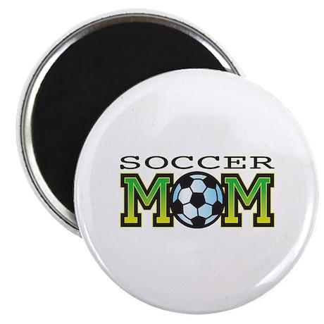 """Soccer Mom 2.25"""" Magnet (10 pack)"""