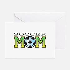 Soccer Mom Greeting Cards (Pk of 10)