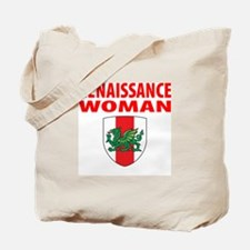 "Midrealm ""renaissance woman"" checklist Tote Bag"
