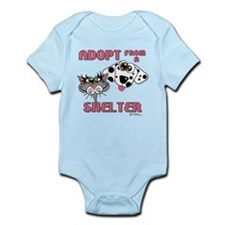 Adopt from a Shelter Infant Bodysuit