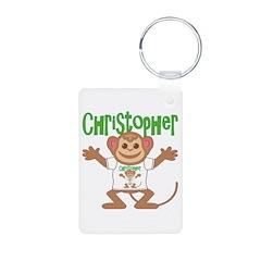 Little Monkey Christopher Keychains