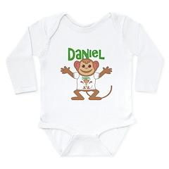 Little Monkey Daniel Long Sleeve Infant Bodysuit