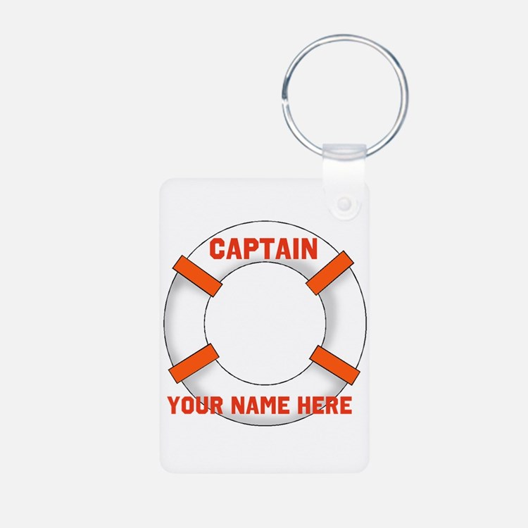 Customizable Life Preserver Keychains