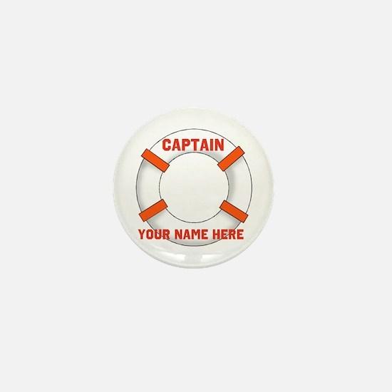 Customizable Life Preserver Mini Button