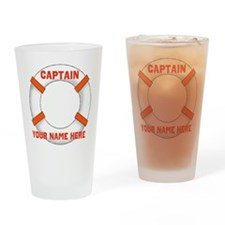 Customizable Life Preserver Drinking Glass