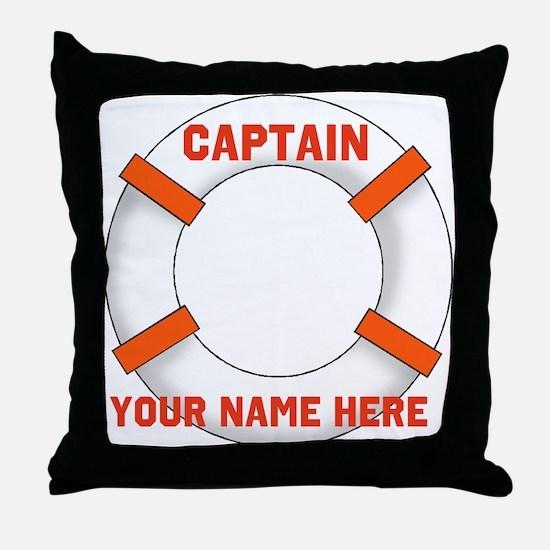 Customizable Life Preserver Throw Pillow