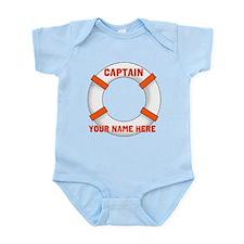 Customizable Life Preserver Infant Bodysuit