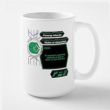 Rules of Acquisition 004 Large Mug
