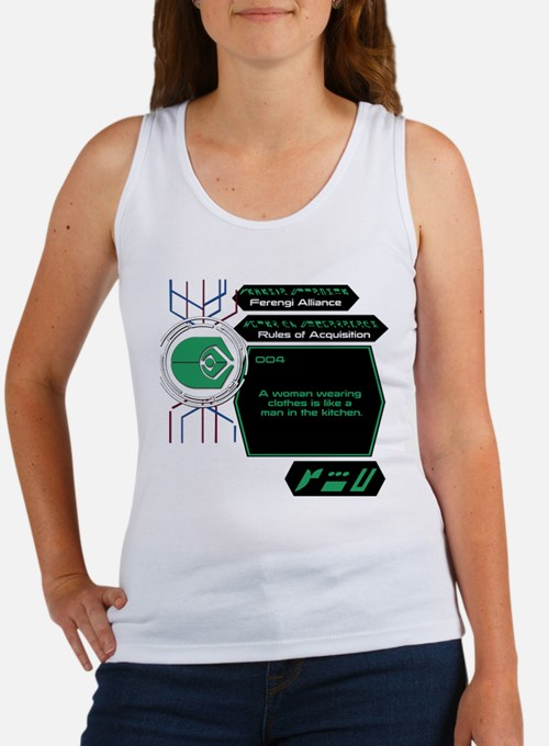 Rules of Acquisition 004 Women's Tank Top