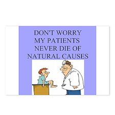 doctor jokes Postcards (Package of 8)