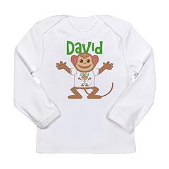 Little Monkey David Long Sleeve Infant T-Shirt