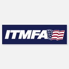 ITMFA Bumper Car Car Sticker