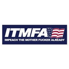 ITMFA Bumper Bumper Sticker
