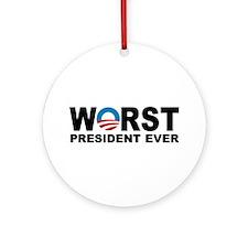 Anti Obama 2012 Ornament (Round)