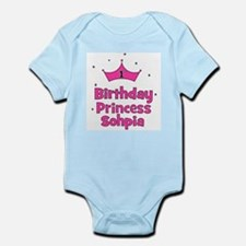 1st Birthday Princess Sophia! Infant Bodysuit