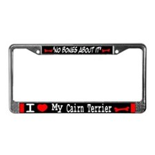 Cairn Terrier Gifts License Plate Frame