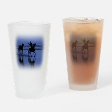 Western Theme Drinking Glass