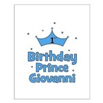 1st Birthday Prince GIOVANNI! Small Poster