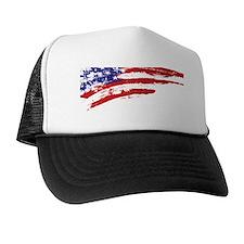 America Flag Trucker Hat