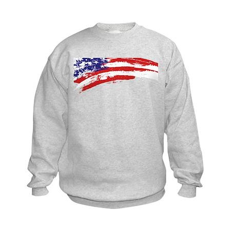 America Flag Kids Sweatshirt