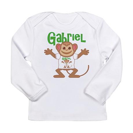 Little Monkey Gabriel Long Sleeve Infant T-Shirt
