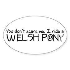 Welsh Pony Decal