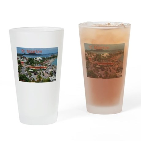 ST. Maarten - Marigot Drinking Glass