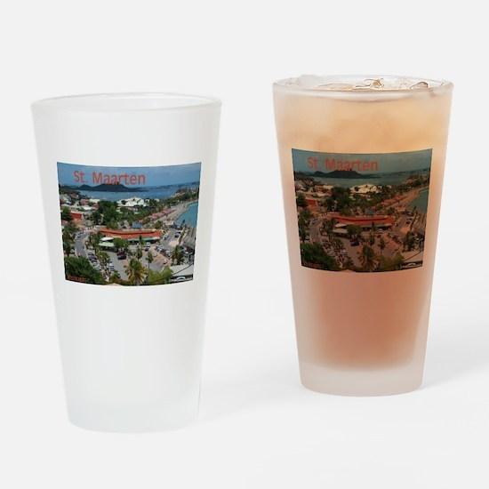 ST. Maarten - Marigot Drinking Glass