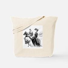 Cute Horse saddle Tote Bag