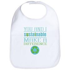 You and I Sustainability Bib