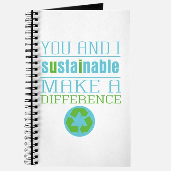 You and I Sustainability Journal