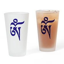 Tibetan Aum Drinking Glass