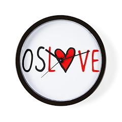 OSLOVE Wall Clock