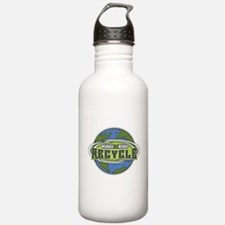 Earth Reduce, Reuse and Recycle Water Bottle