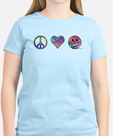 Peace Love and Happiness T-Shirt