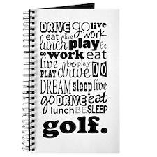 Golfer Gift Journal