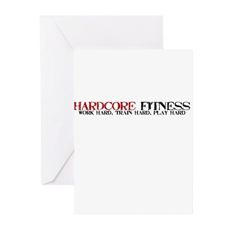 Hardcore Fitness Greeting Cards (Pk of 20)