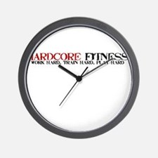 Hardcore Fitness Wall Clock