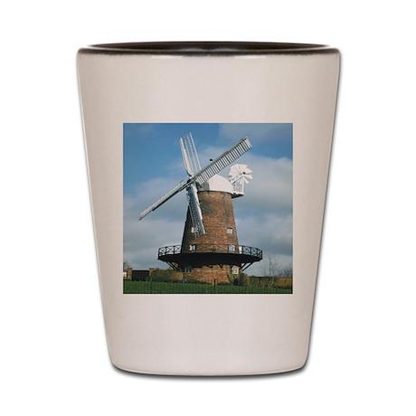 Windmill Shot Glass