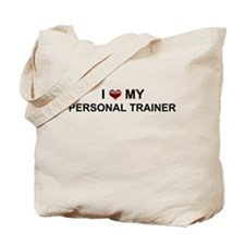 I love my Personal Trainer Tote Bag