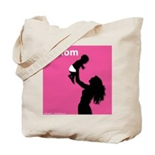 iMom Pink Mother's Day Tote Bag