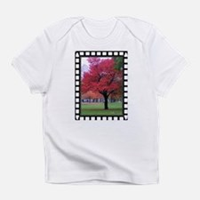 Fiery Red Fall Tree photo Infant T-Shirt