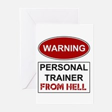 Warning Personal Trainer from Greeting Cards (Pk o
