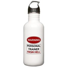 Warning Personal Trainer from Water Bottle