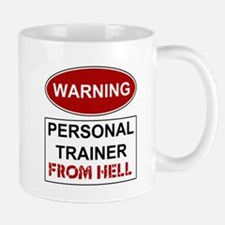 Warning Personal Trainer from Mug