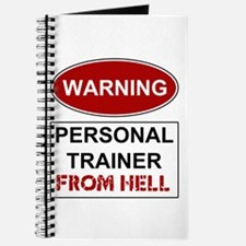 Warning Personal Trainer from Journal