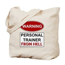 Warning Personal Trainer from Tote Bag