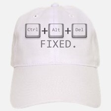Ctrl + Alt + Del = Fixed. Baseball Baseball Cap