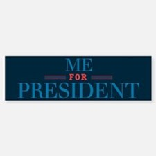 For Pres3_bumpersticker Bumper Car Car Sticker