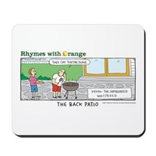 The Back Patio Mousepad